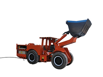Electric Mini Loader Scooptram with one Cubic Bucket